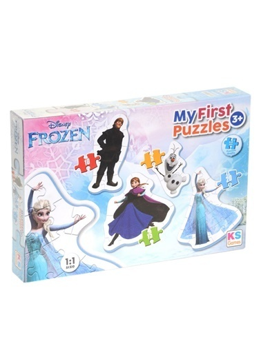 Ks Games  Puzzle 4 İn1 Frozen My First Frz10304 Renkli